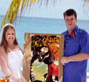 Emily & Robert Ketubah is another very happy couple from This is Not a Ketubah