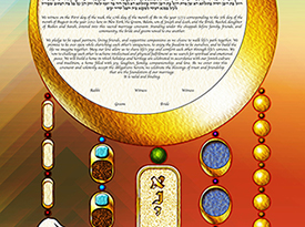 The Hamsa Dream Ketubah