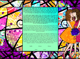 The Kiss From a Rose Ketubah