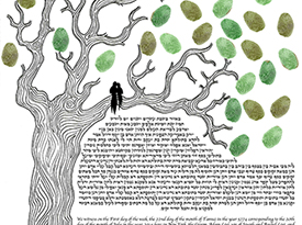 The Oak Ketubah