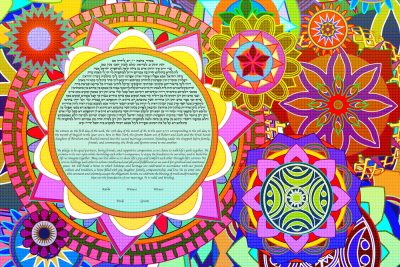 The Unconventional Mandalas Ketubah
