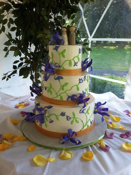 original ketubah cake