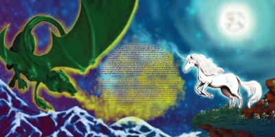 The Moonlit Fantasy Ketubah