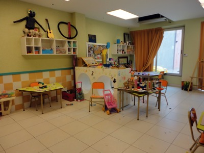 The Playroom next to the Library