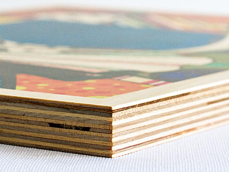 Wood Corner