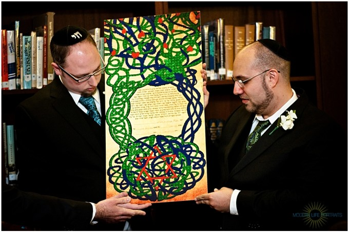 Marcus and Kris' Ketubah 3