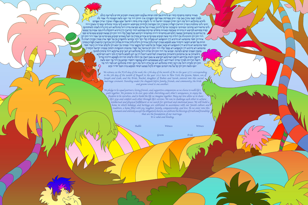 today is your day ketubah � tinak this is not a ketubah