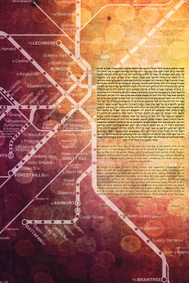 Boston Subway Ketubah