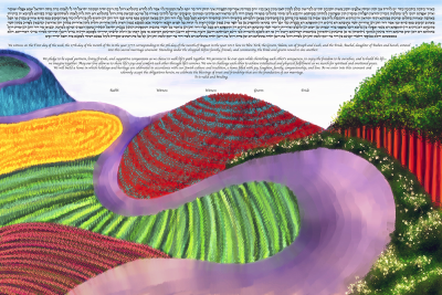 The Hockney Road Ketubah