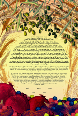 Species For Love Ketubah