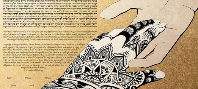 The Symbol of Celebration: Henna Ketubah